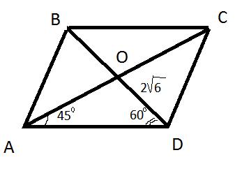 Решение задачи одна из диагоналей решение задачи про векторы