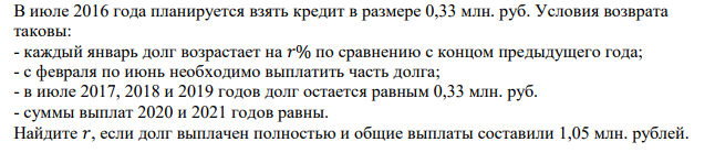 расчет международного кредита